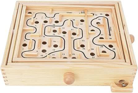 Haut Niveau Jouets de Labyrinthe de Force /électromagn/étique Enfants Jeu interactif Parent-Enfant Choc /électrique Nouveau Jeu de Labyrinthe de Puzzle pour Enfants Enfants