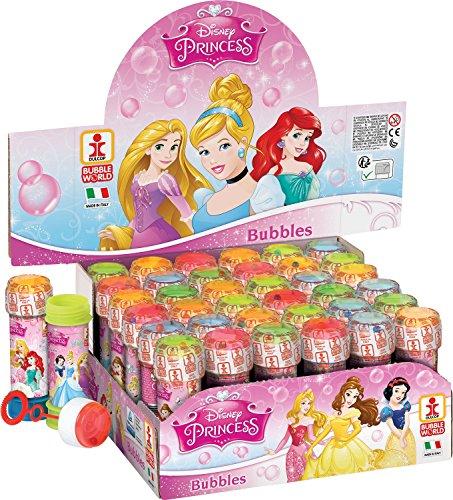 Fancy Me Packung 36 or 6 Bubble Blumentöpfe - Jungen Mädchen Blasen Party Beutel Strumpffüller Garten Spiel Ideas - Disney Princess, Box of 36 (Party-spiele Princess Disney)