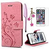 iPhone 6 Plus / 6S Plus Hülle (5,5 Zoll) Wallet Case