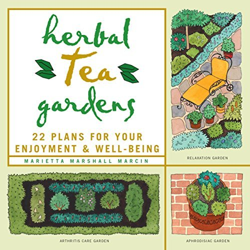 Herbal Tea Gardens: 22 Plans for Your Enjoyment & Well-Being by Marietta Marshall Marcin (1999-01-02)