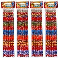 24 X Super Hero Pencils