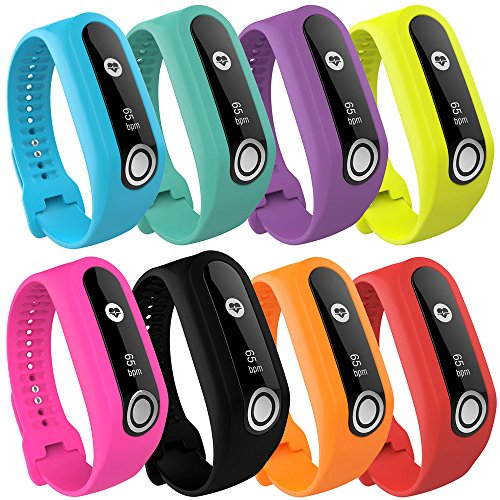 IGEMY Replacement Silicone Band Strap For TomTom Touch Cardio Activity Tracker