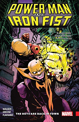 Power Man and Iron Fist Vol. 1: The Boys Are Back In Town (Power Man and Iron Fist (2016-2017)) (English Edition) (Teen Solo Black)