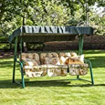 Reclining Swing Seat for 3 with Class...