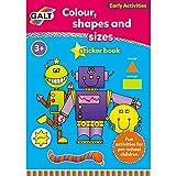 Galt - Colour, Shapes And Sizes 3 Yaş+ Aktivite Kitabı (L3124F)