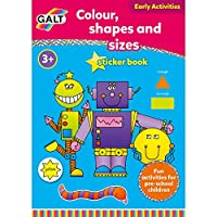 Galt Colour, Shapes And Sizes 3 Yaş+ Aktivite Kitabı (L3124F)