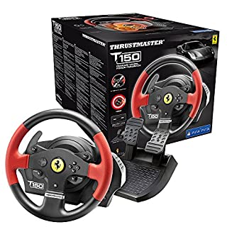 Thrustmaster - Volant T150 Ferrari Force Feedback - Volant 1080° avec Retour de Force - PS4/PS3/PC (B014XZ85J0) | Amazon price tracker / tracking, Amazon price history charts, Amazon price watches, Amazon price drop alerts