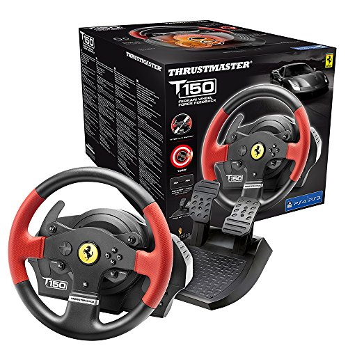 Thrustmaster T150 Ferrari Force Feedback Volante -...