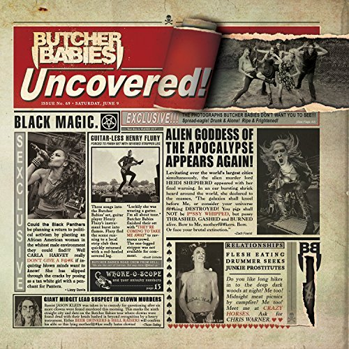 Uncovered by BUTCHER BABIES (2014-09-30)