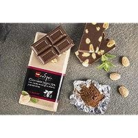 Cioccolato 72 % con mandorle edulcorato con