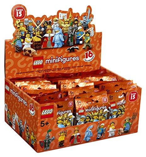 LEGO 6138959 - Minifigures DisneyTheken Display Serie 15, Spiele und Puzzles