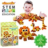 Best Creativity for Kids Gift For 6 Yr Old Boys - Click-A-Brick Animal Kingdom 30pc Educational Toys Building Block Review