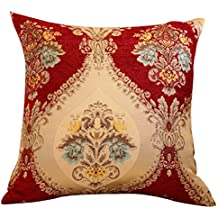 WANGXIAOLIN Cuscino Europeo Cuscino Cuscino Lombare Federa (55 * 55cm / 45 * 45cm Inserto Incluso) Quadrato ( dimensioni : 55*55cm )