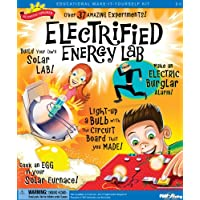 Slinky Scientific Explorers Electrified Energy Lab Kit, Other, Multicoloured