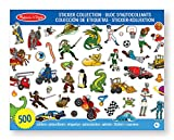 Melissa & Doug - 14246 - Sticker-Kollektion – Blau