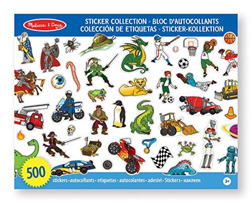 Melissa & Doug - 14246 - Sticker-Kollektion – Blau