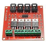 ILS - de cuatro canales 4 Ruta IRF540 MOSFET interruptor de botón Módulo Para las Unidades de Arduino Motor Iluminación Dimmer