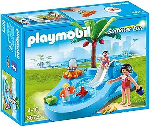 PLAYMOBIL 6673 - Babybecken mit Rutsche