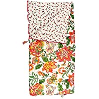 Sleeping Beauties Printed Cotton Sleeping Bag - perfect for camping, glamping & festivals - Wild Floral