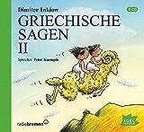 Griechische Sagen, Teil 2 (2 CDs) (Götter und Helden: Die Welt der griechischen Sagen und Fabeln)