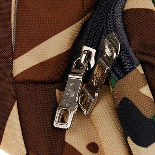 Marsupio Unisex per Sport Trekking Campeggio Escursioni Vaggi 4 Tasche Cinghia Borse Sacchetto - #9 #10