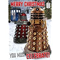 Doctor Who SCX67 Sound Christmas Card