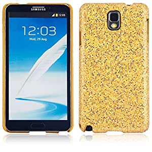 Shining Protective Hard Case for Samsung Note3 Golden