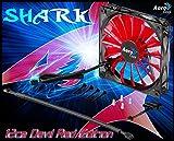 AeroCool Shark Fan Devil Red Edition 12cm PC-Gehäuse Lüfter–Lüfter, refoidisseurs und Heizkörper (PC-Gehäuse, Lüfter, 12cm, 12,6DB, 100000h, schwarz, rot)