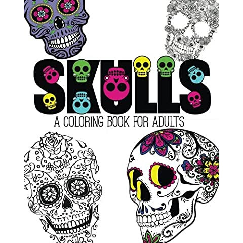Skulls: An Adult Coloring Book