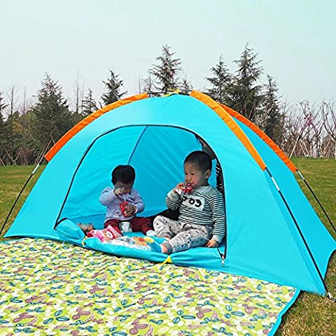 GUMO-Tent, outdoor, indoor, home, Princess House, small tent, toy house,orange