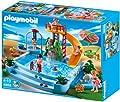 Piscina con tobogán de Playmobil (4858)