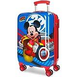 Disney World Mickey Maleta de cabina Multicolor 34x55x20 cms Rígida ABS Cierre combinación 37.4L 2,6Kgs 4 Ruedas dobles Equip