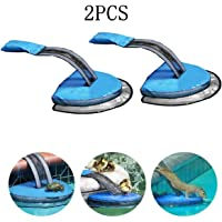 oofay 2PCS Swimming Pool Animal Protection Escape Ramp, Pond Ramp, Convenient for Small Animals To Escape, Can Be Used for Frogs, Turtles, Small Animals (1PCS)