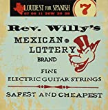 Dunlop DL STR RWN 007/038 Rev Willy Mexican Lottery Strings extra light 007-038
