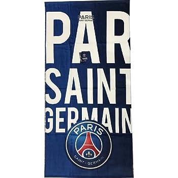 ee145f03405fad ICI C EST PARIS PSG- Serviette - Drap de Bain Plage Saint Germain Club