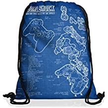 style3 Dualshock Controlador Bolsa mochila bolsos unisex gymsac PS videojuego videoconsola