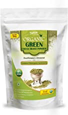 Vokin Biotech Natural Organic Green Coffee Beans Powder for Weight Management, 200gm