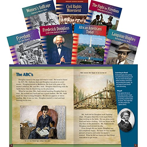 Equality for All Set: Grades 6-8 (Teacher Created Materials Library Set) (Der Lincoln-reader)