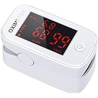 JOYSKY Pulsossimetro da Dito, Pulsossimetro Saturimetro da Dito Portatile Professionale con Display LED