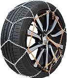 Chaine neige 9mm pneu 215/55R17 montage rapide fiabilité et sécurité garantie