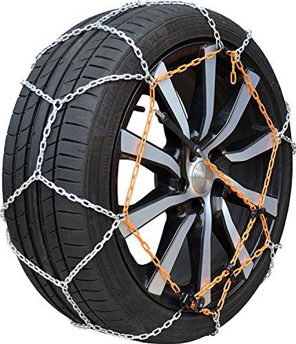 Chaine neige 9mm pneu 195/45R15 montage rapide fiabilité et sécurité garantie
