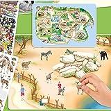 Depesche 5376 - Malbuch Create your Zoo mit Stickern von Depesche
