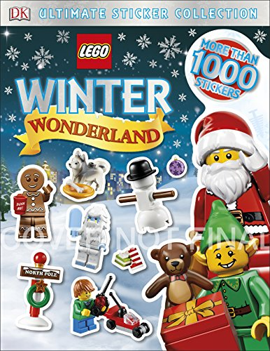 Lego Winter Wonderland Ultimate Sticker Collection (Dk Ultimate Sticker Collection)