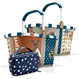 reisenthel, Set aus carrybag BK, thermocase OY, SBKOY, Einkaufskorb mit Kleiner Kühltasche, Special Edition Bavaria 4 + Spots