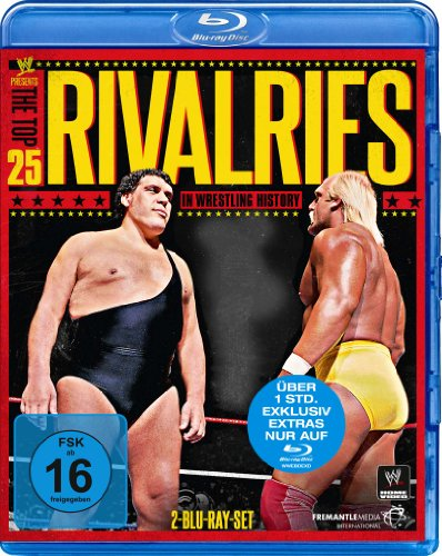 WWE presents The Top 25 Rivalries in Wrestling History [Blu-ray]