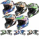Shox MX-1 Paradox Enduro Motocross Helm