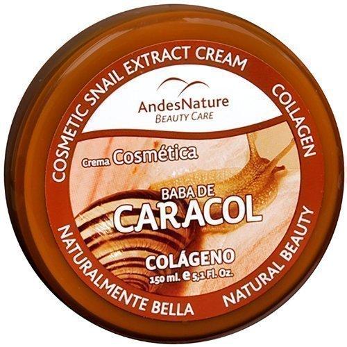 150,8 ml (150ml) BABA DE CARACOL CREME 90% SCHNECKE EXTRAKT CREME FÜR ANTI-AGING, AKNE, NARBEN, BRANDWUNDE, HAUTUNREINHEITEN, DEHNUNGSSTREIFEN