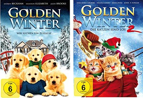 Golden Winter 1+2 ( Das tierische Weihnachten Highlight ) [2 DVDs]