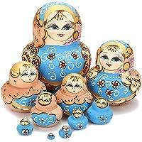 Jeteven Halloween Matryoshka Babuschka spielzeug matroschka Russische Puppen Nesting Dolls Marionette Geschenk Souvenirs 10st