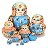 Jeteven Advents - geschenk Matryoshka Babuschka spielzeug matroschka Russische Puppen Nesting Dolls...